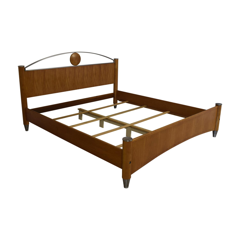 Ethan Allen Ethan Allen Radius California King Bed Frame on sale