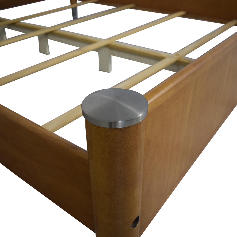 buy Ethan Allen Ethan Allen Radius California King Bed Frame online