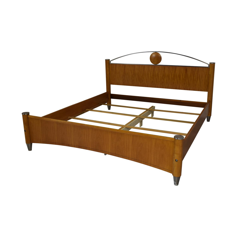shop Ethan Allen Radius California King Bed Frame Ethan Allen