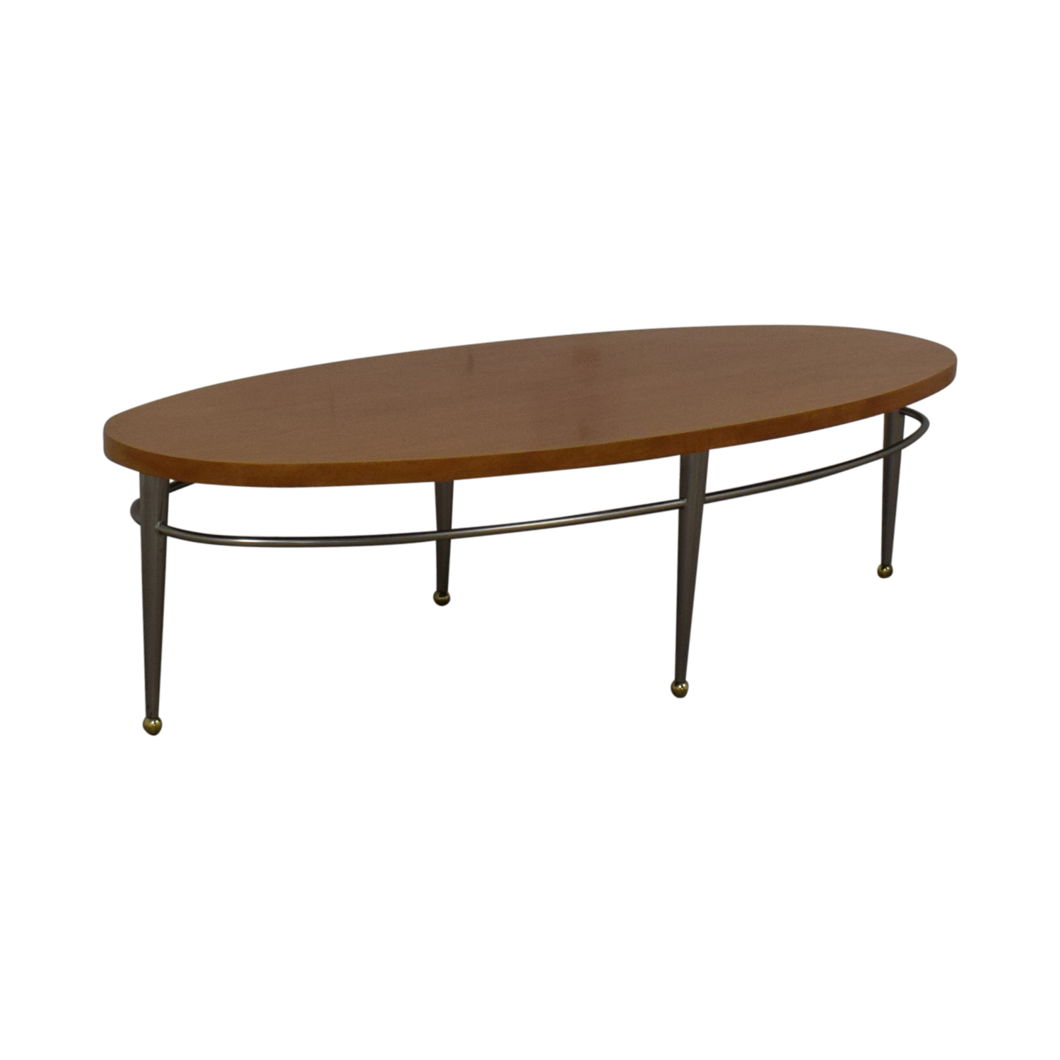 Ethan Allen Ethan Allen Round Wood Coffee Table coupon