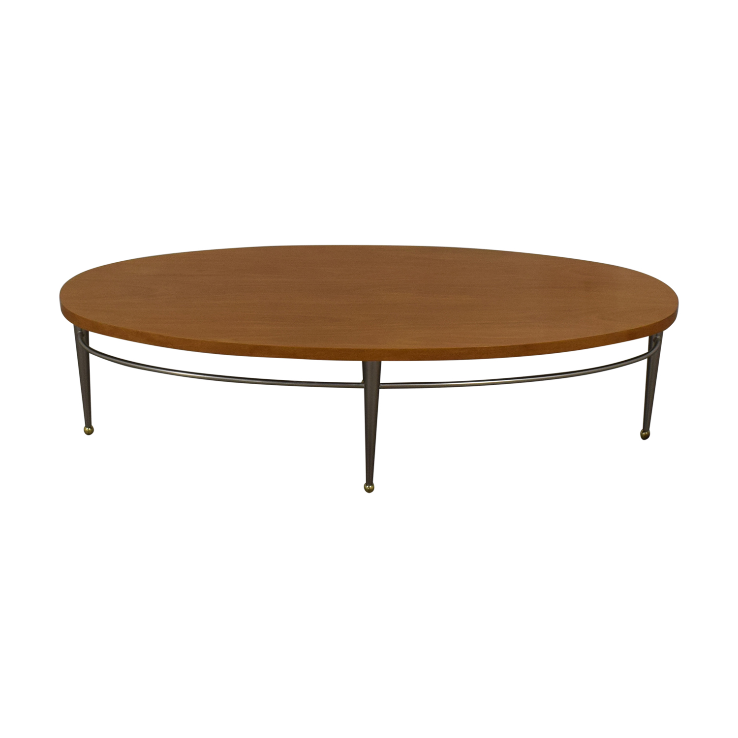 Ethan Allen Ethan Allen Round Wood Coffee Table on sale