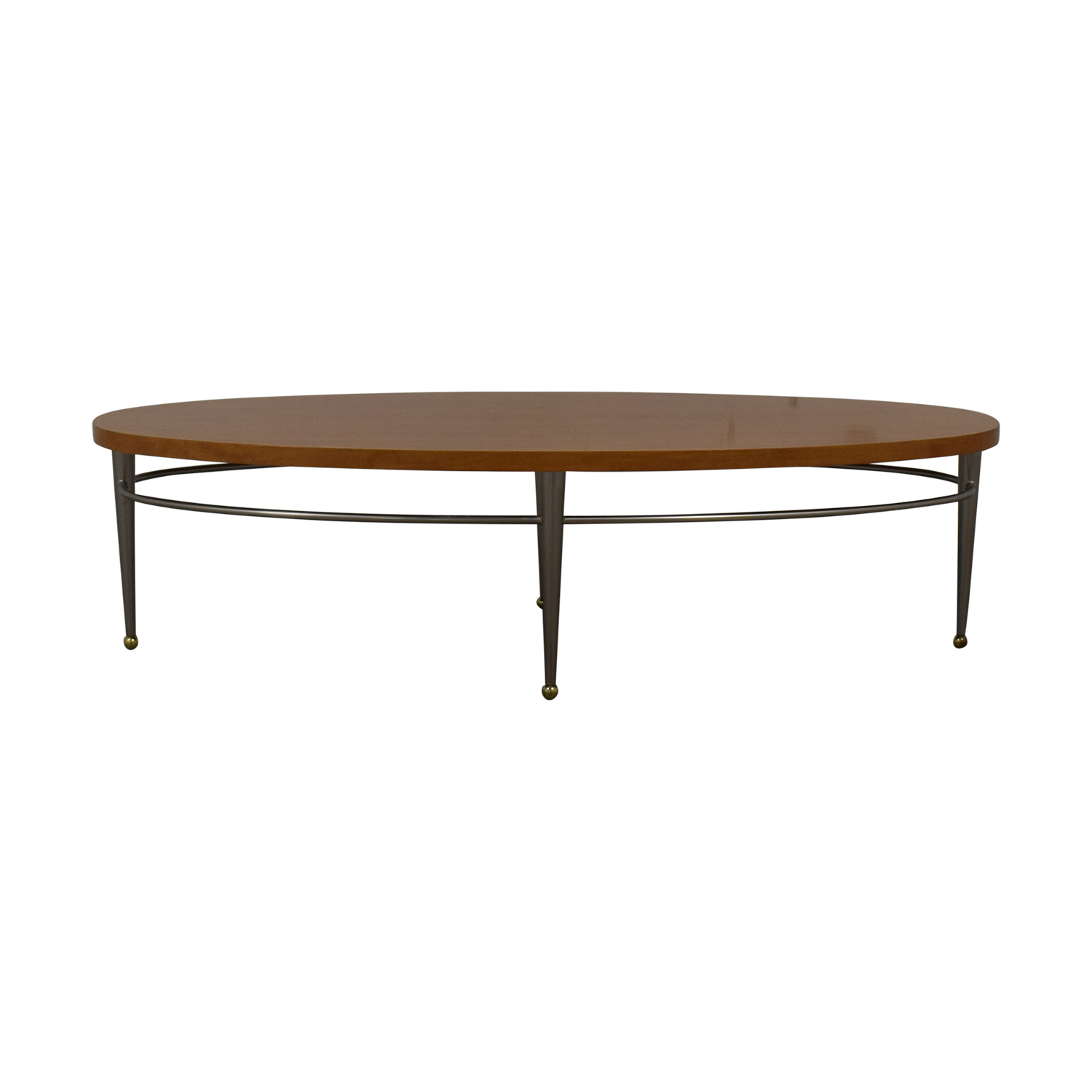 Ethan Allen Ethan Allen Round Wood Coffee Table dimensions