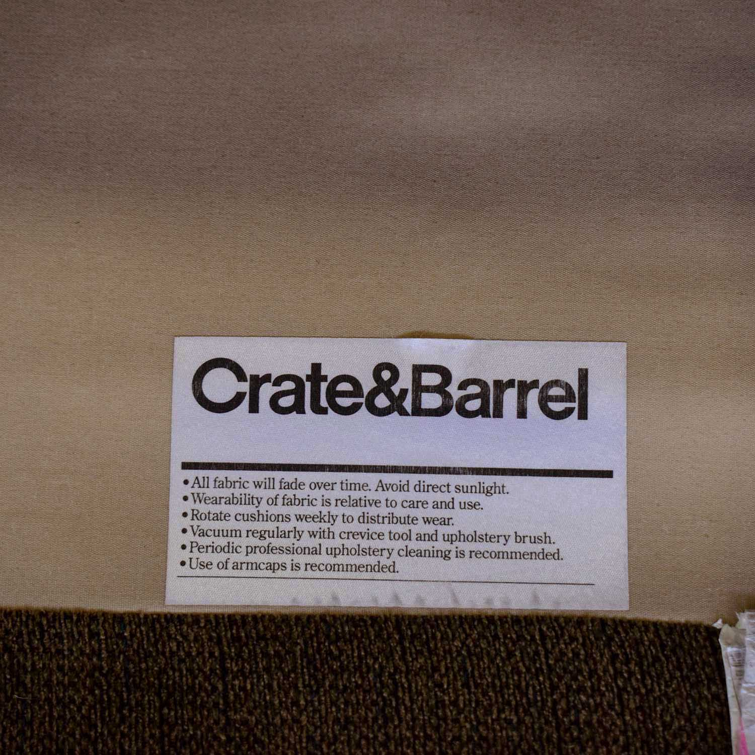 Crate & Barrel Modular Sectional Sofa / Sectionals