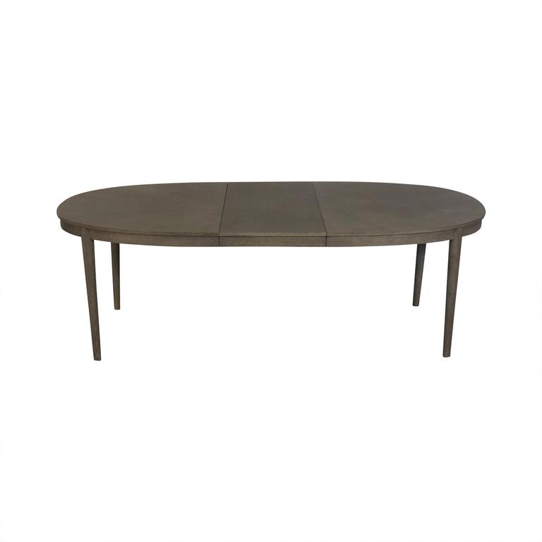buy West Elm West Elm Grey Starburst Expandable Table online