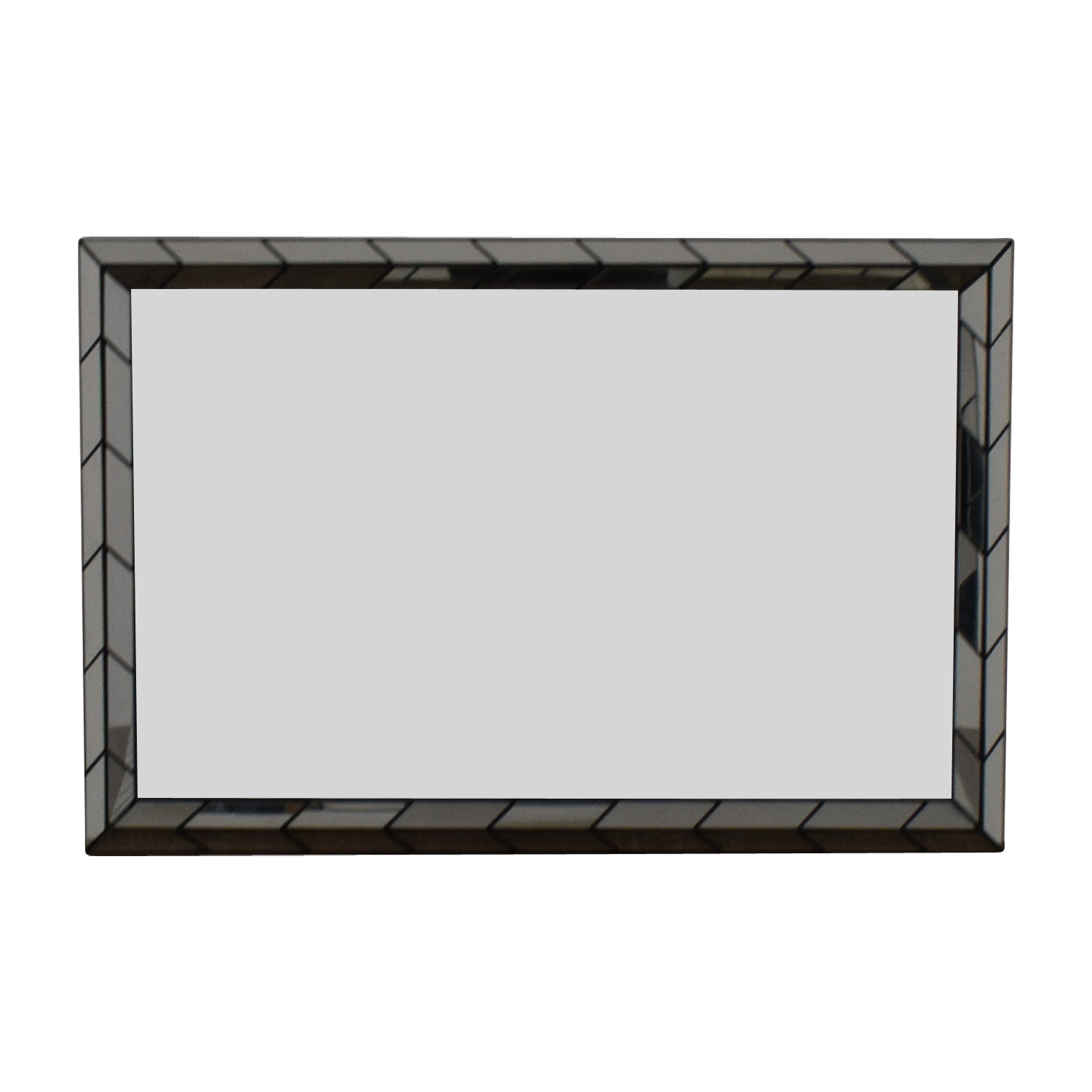West Elm West Elm Geometric Mirror for sale