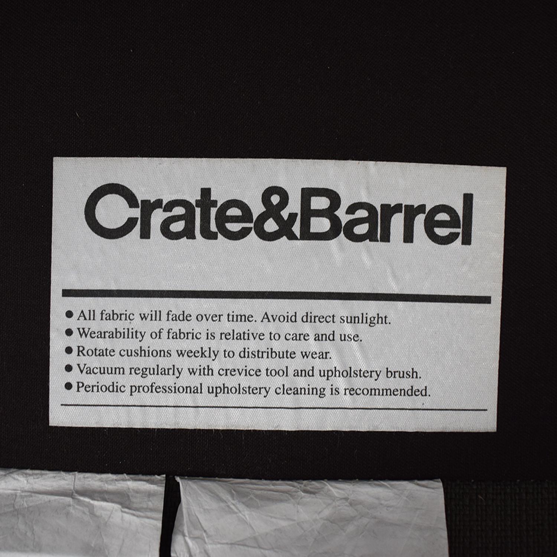 Crate & Barrel Crate & Barrel Petrie Mid-Century Sofa Sofas