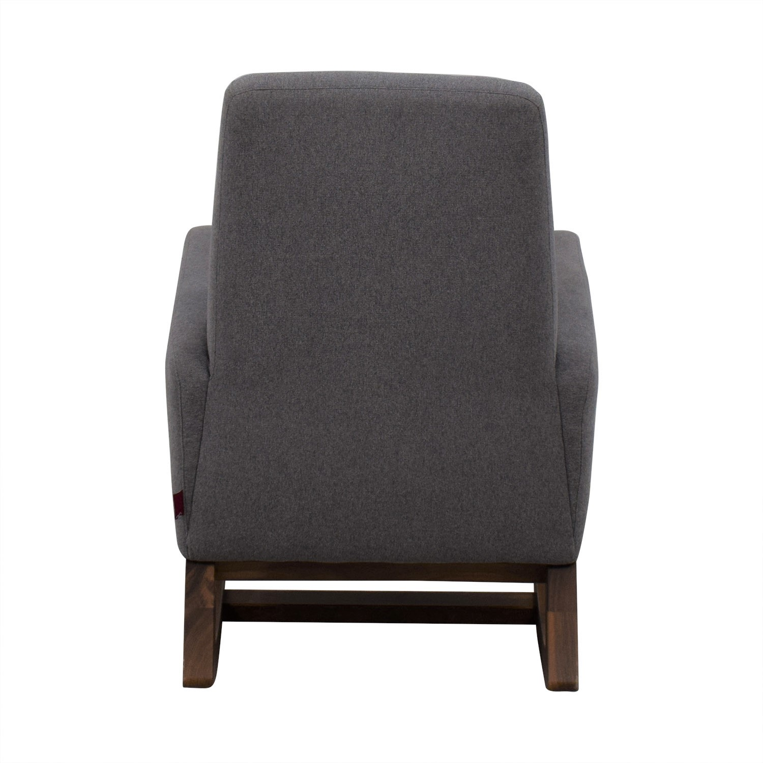 Monte Design Monte Design Joya Rocker Accent Chair light gray/brown
