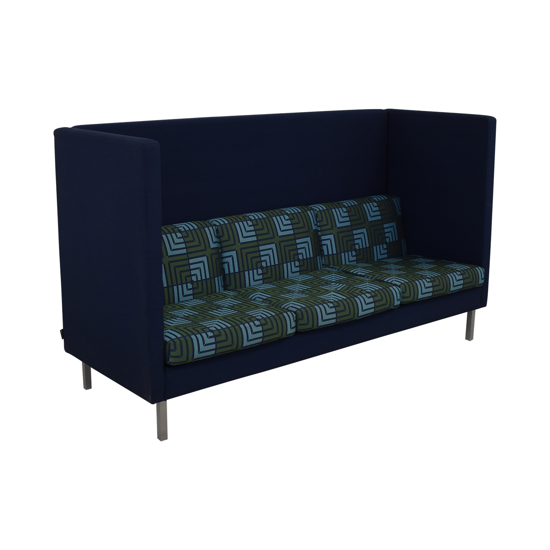 shop Nienkamper Nienkamper Tuxedo High Back Three Seat Sofa online