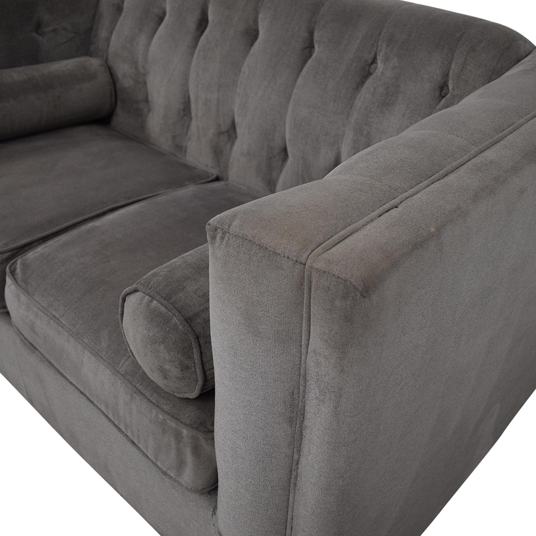 Chesterfield Sofa gray