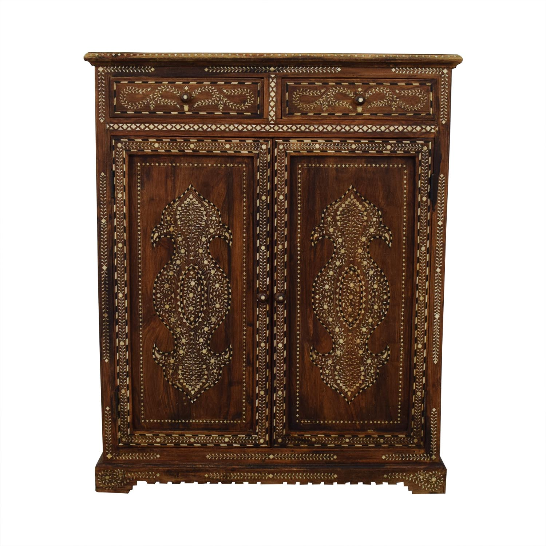 Decorative Moroccan Cabinet used