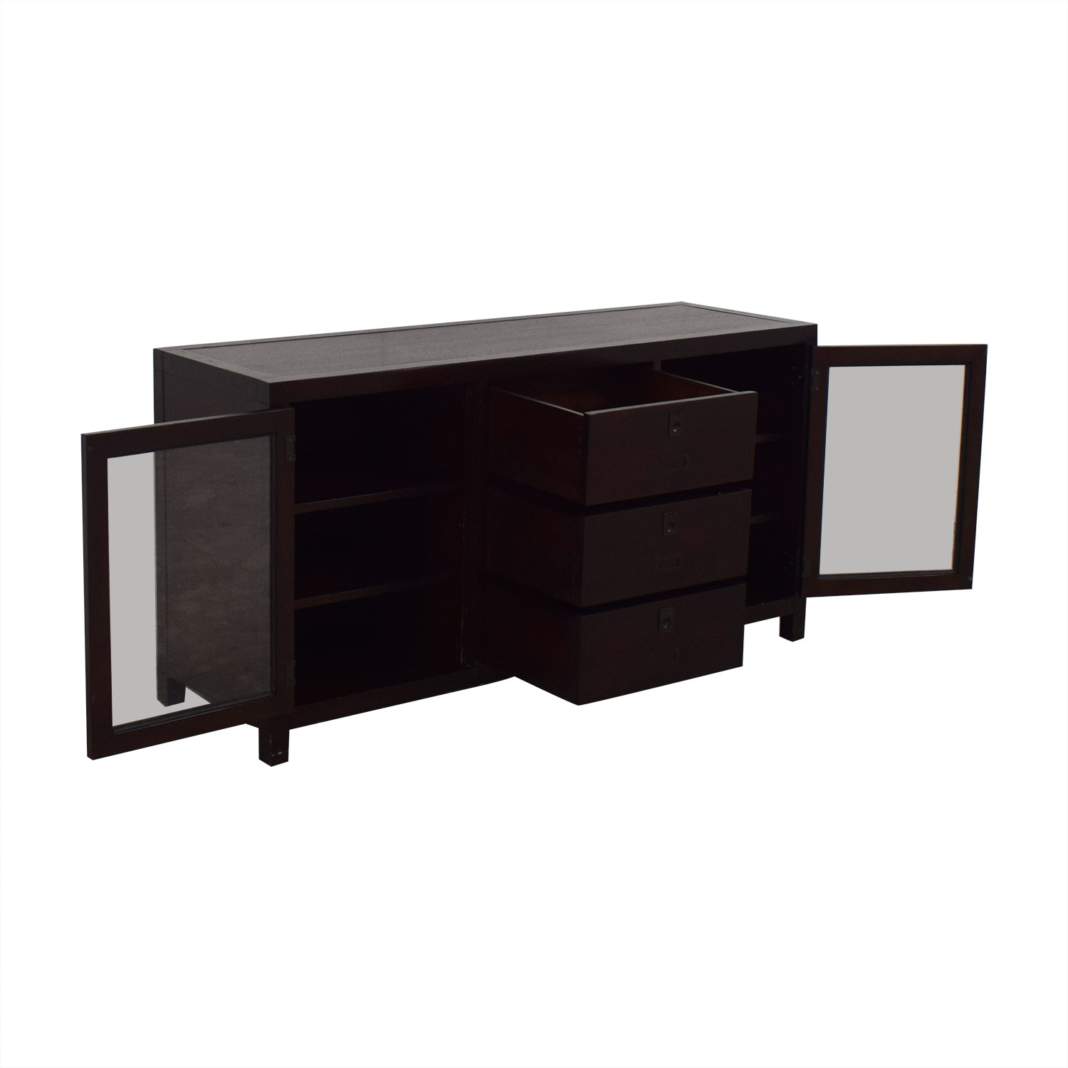 Crate & Barrel Crate & Barrel Media Console brown