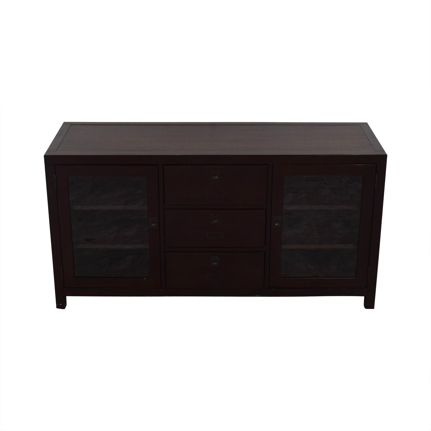 shop Crate & Barrel Media Console Crate & Barrel Storage
