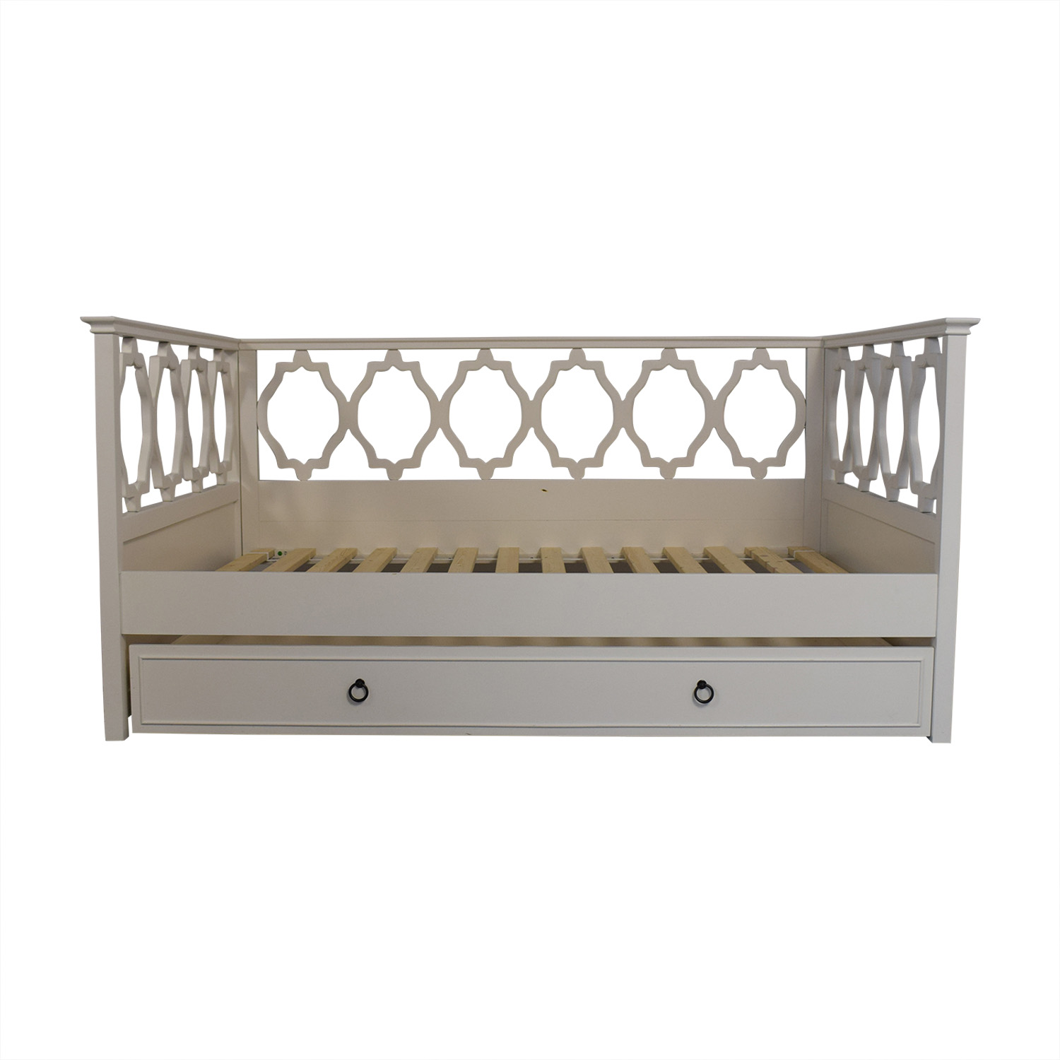 buy PBteen Elsie Full Daybed and Trundle PBteen Bed Frames