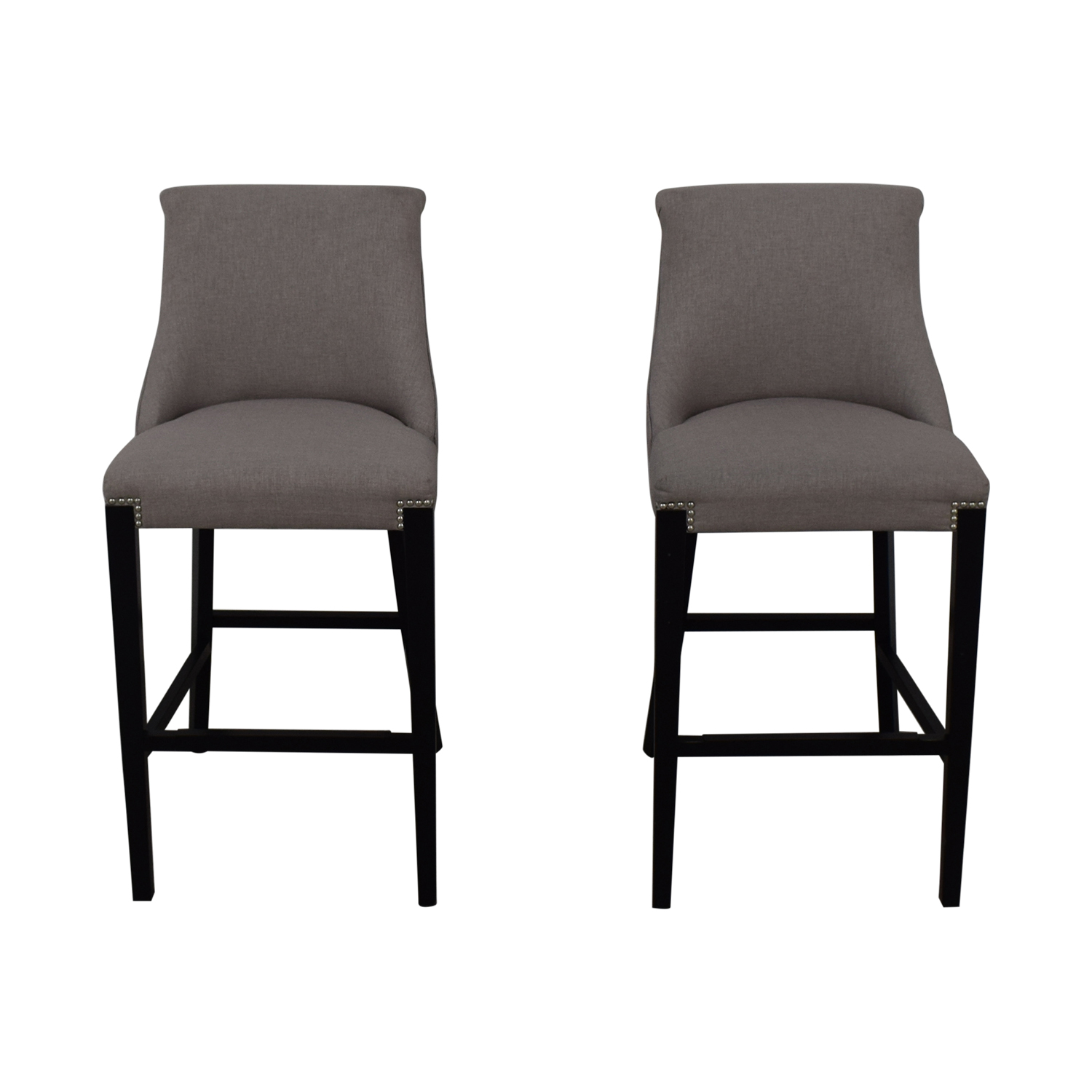 Grey Bar Stools dimensions