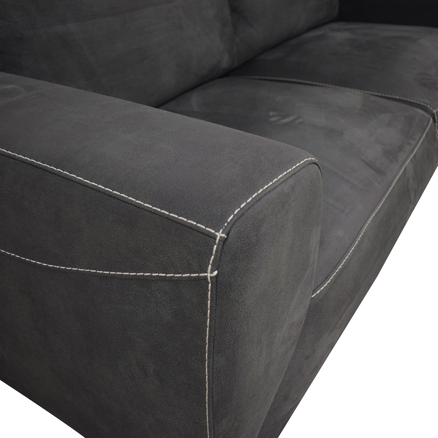 Monarch Furniture Monarch Furniture Grey Couch second hand
