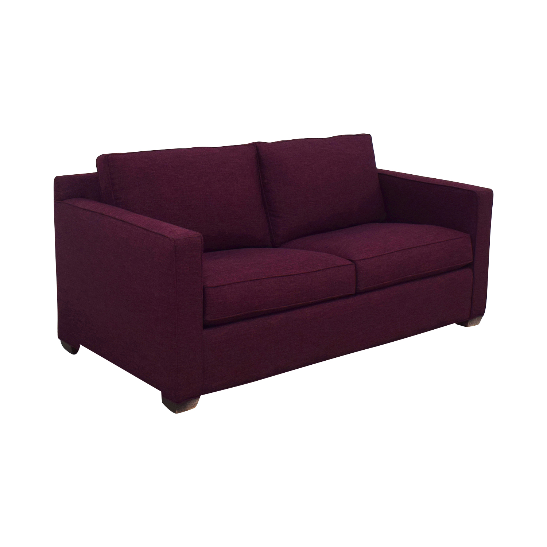 shop Crate & Barrel Barret Full Sleeper Sofa Crate & Barrel Sofas