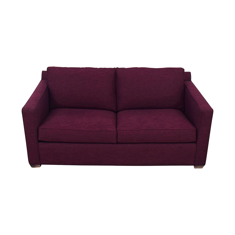 Crate & Barrel Crate & Barrel Barret Full Sleeper Sofa on sale