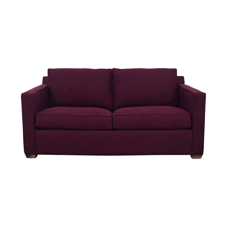 Crate & Barrel Barrett Full Sleeper Sofa sale