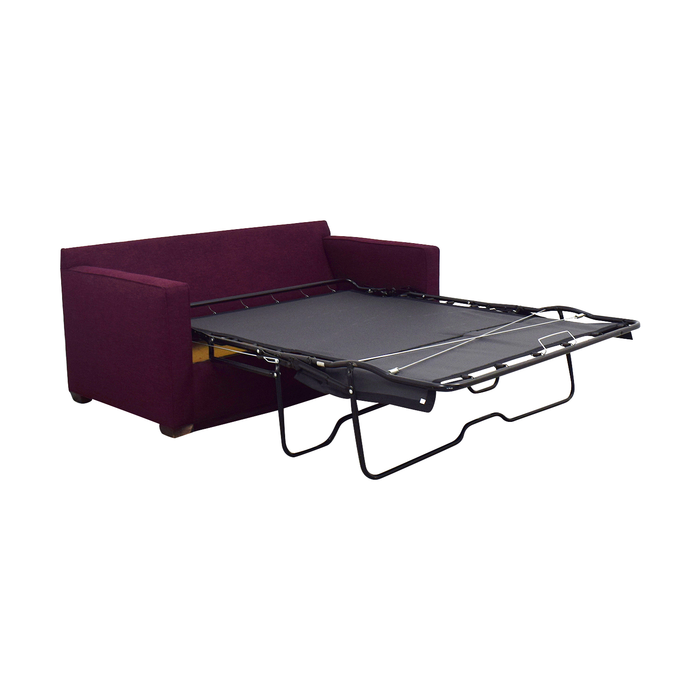 Crate & Barrel Crate & Barrel Barret Full Sleeper Sofa dimensions