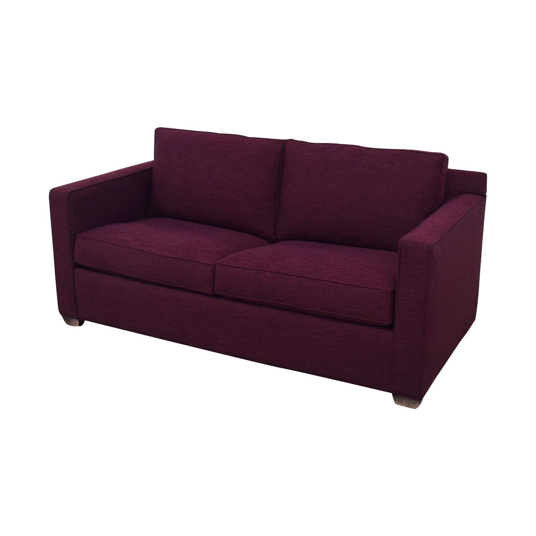 Crate & Barrel Crate & Barrel Barrett Full Sleeper Sofa