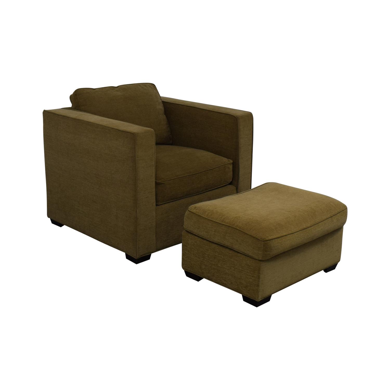 Room & Board Room & Board Ian Chair And Ottoman used