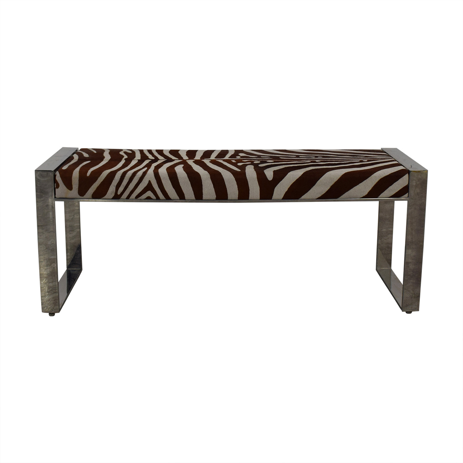 buy Modern Animal Print Bench  Chairs