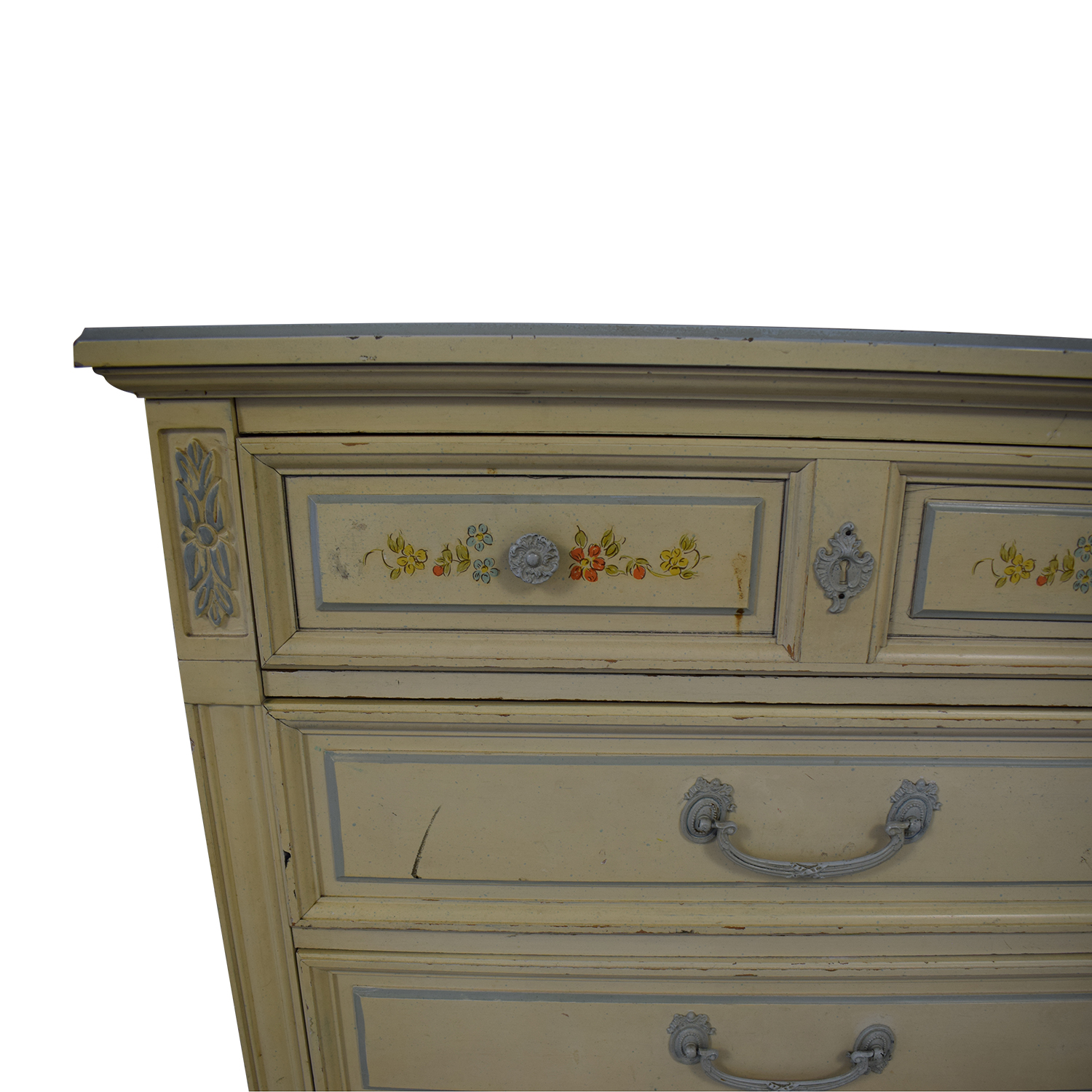 buy Dixie Furniture Company Victorian Five-Drawer Dresser Dixie Furniture Company Storage