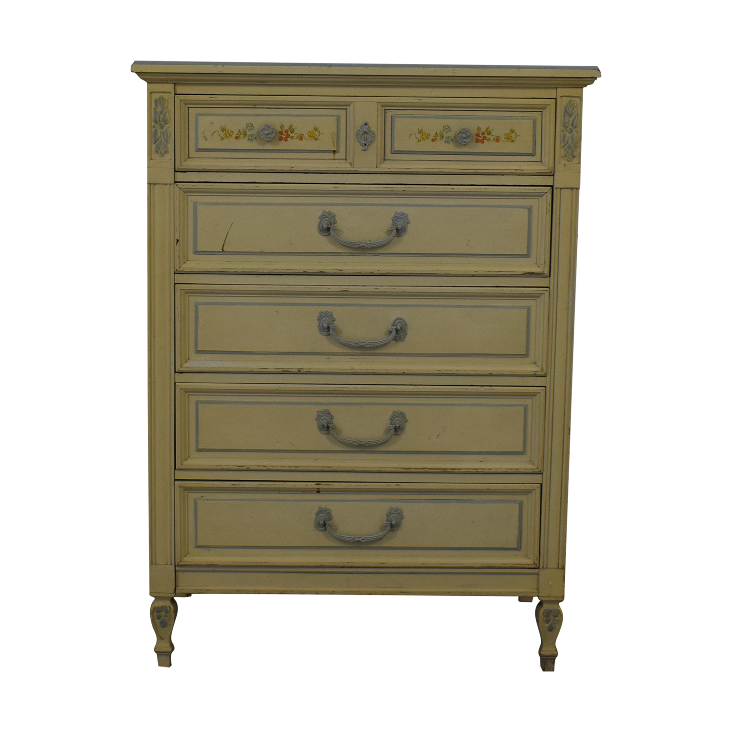Dixie Furniture Company Dixie Furniture Company Victorian Five-Drawer Dresser price