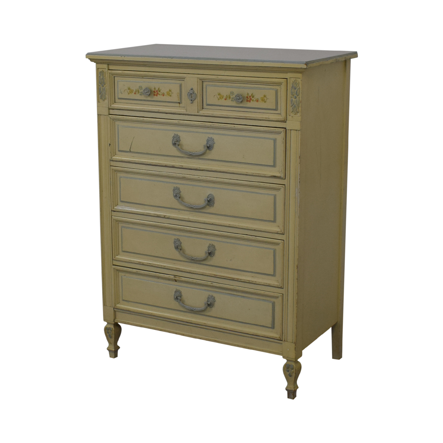 Dixie Furniture Company Dixie Furniture Company Victorian Five-Drawer Dresser discount
