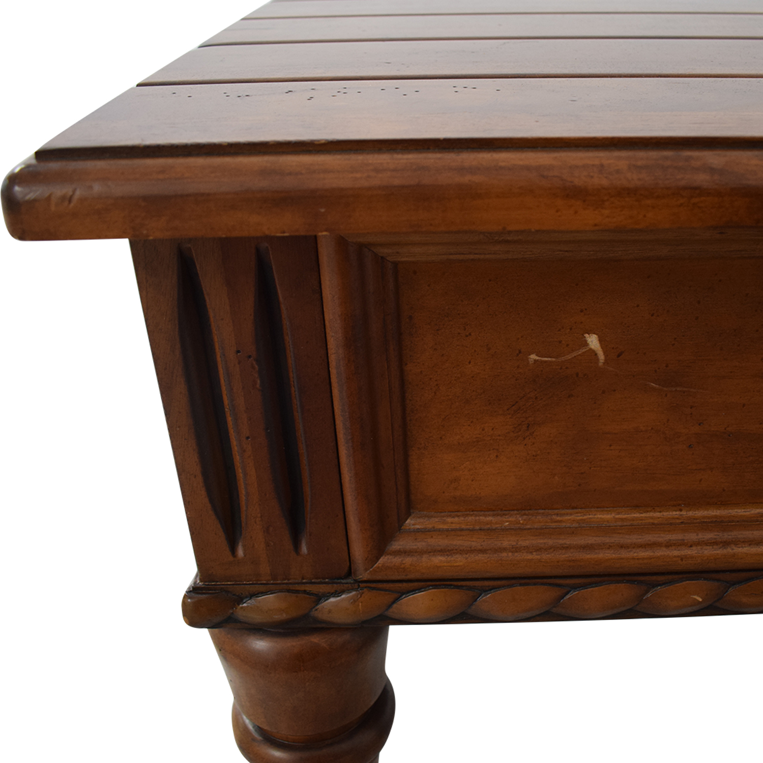 Thomasville Ernest Hemingway Collection Single Drawer End Tables / End Tables