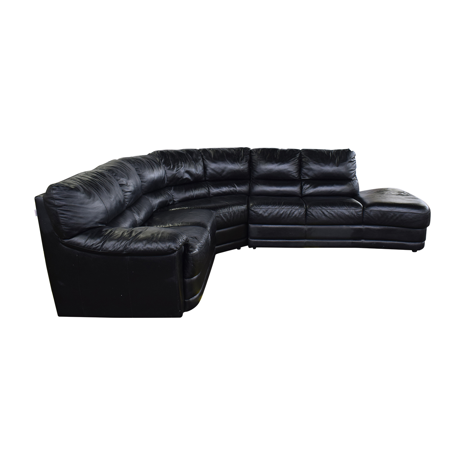 Nicoletti Home Nicoletti Home Black Sectional used