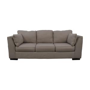 Ashley Furniture Neutral Three-Seat Sofa Ashley Furniture