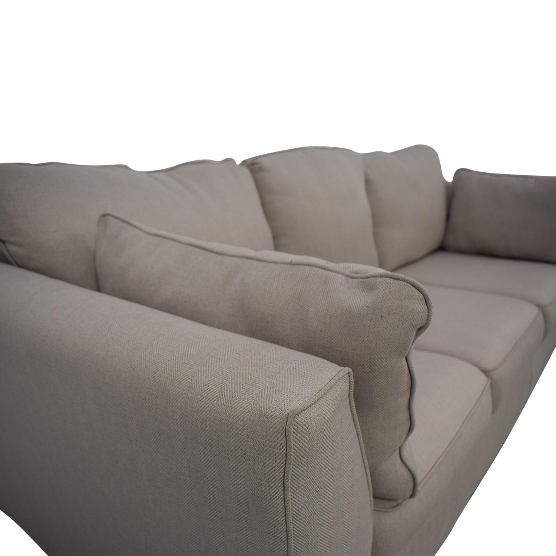 Ashley Furniture Ashley Neutral Three-Seat Sofa coupon