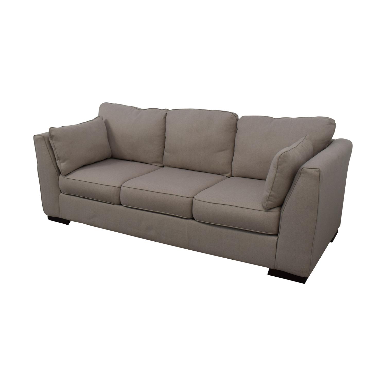 Ashley Furniture Ashley Neutral Three-Seat Sofa discount