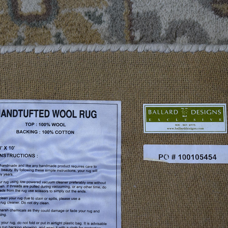 Ballard Designs Ballard Designs Handtufted Wool Rug second hand