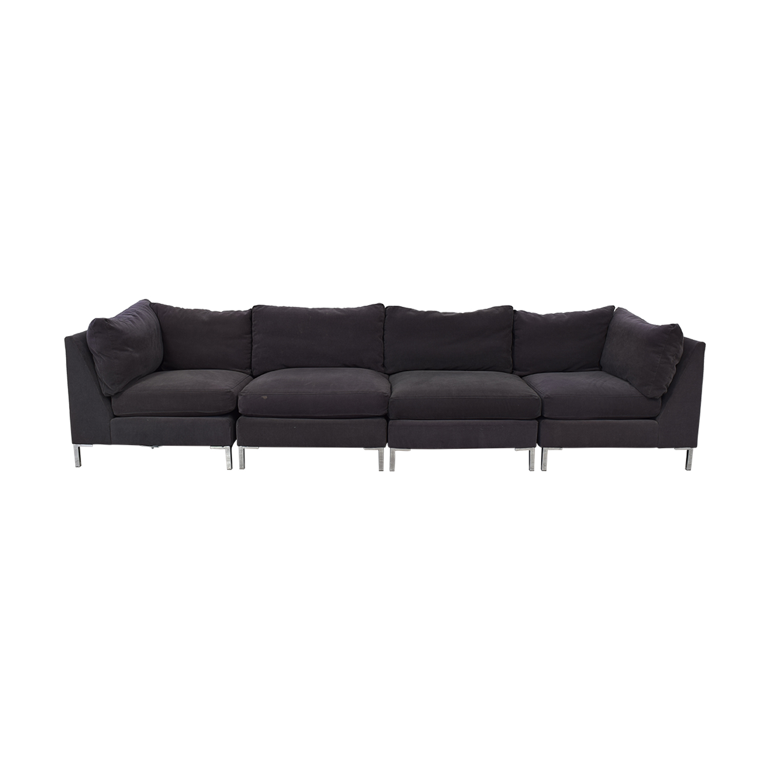 CB2 Modular Sectional Sofa sale