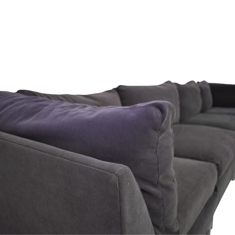 shop CB2 Modular Sectional Sofa CB2 Sofas