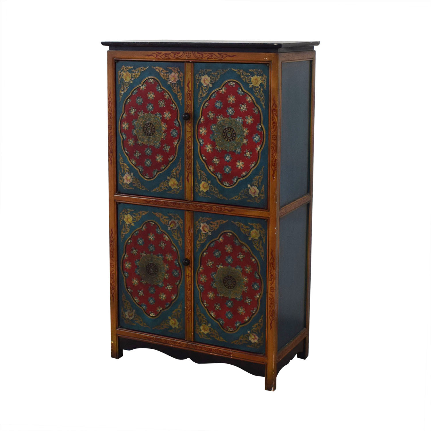 Pier 1 Pier 1 Decorative Wine Cabinet Storage