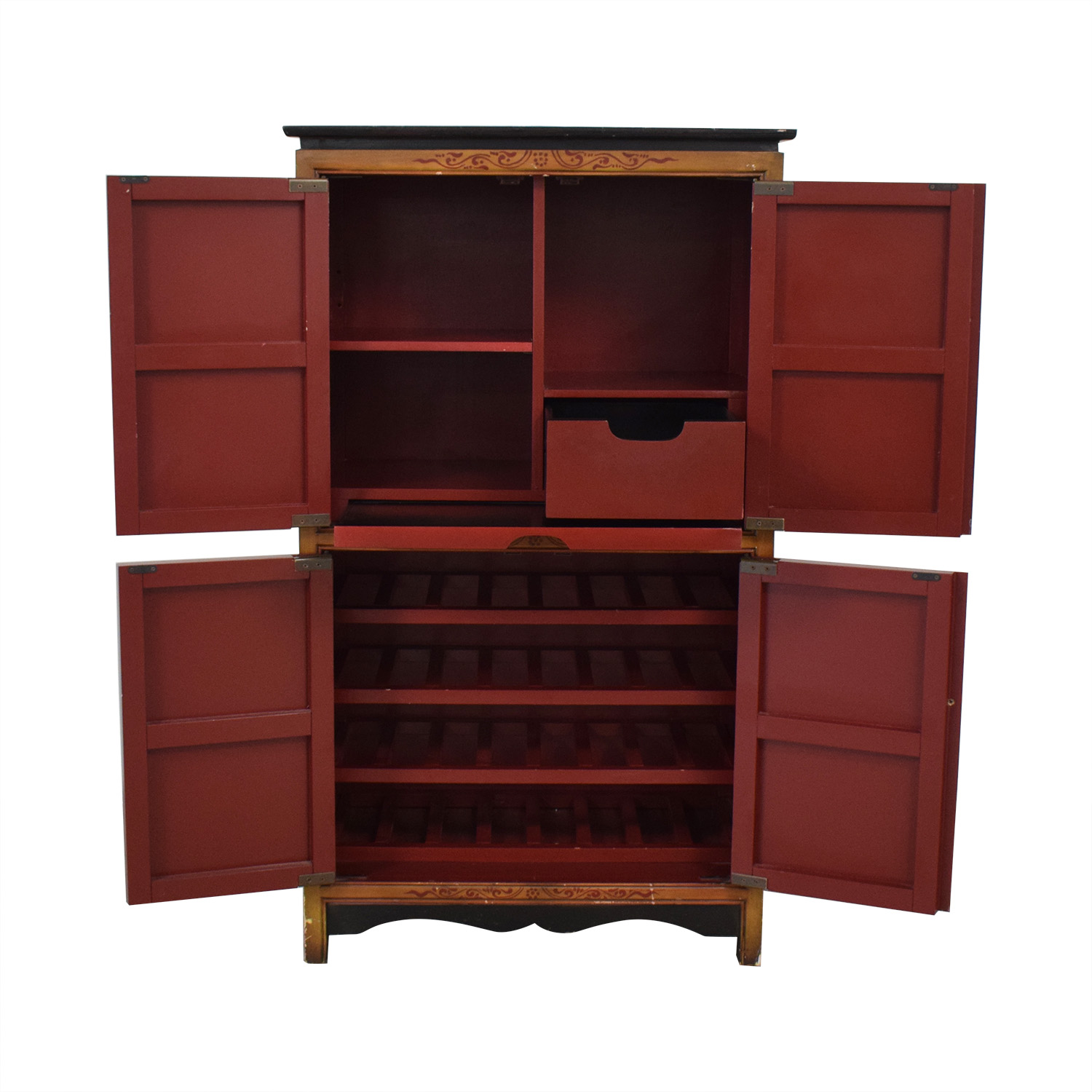 Pier 1 Pier 1 Decorative Wine Cabinet for sale