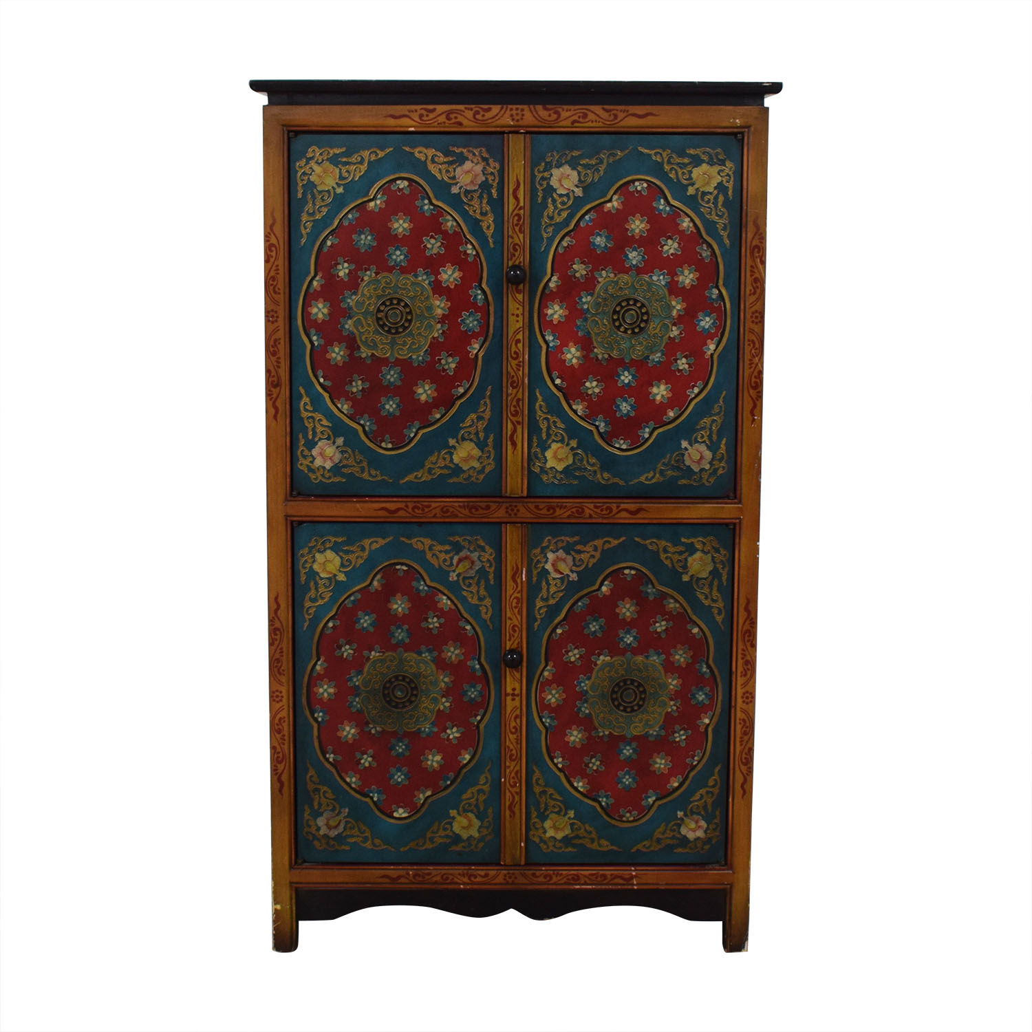 Pier 1 Pier 1 Decorative Wine Cabinet multi color