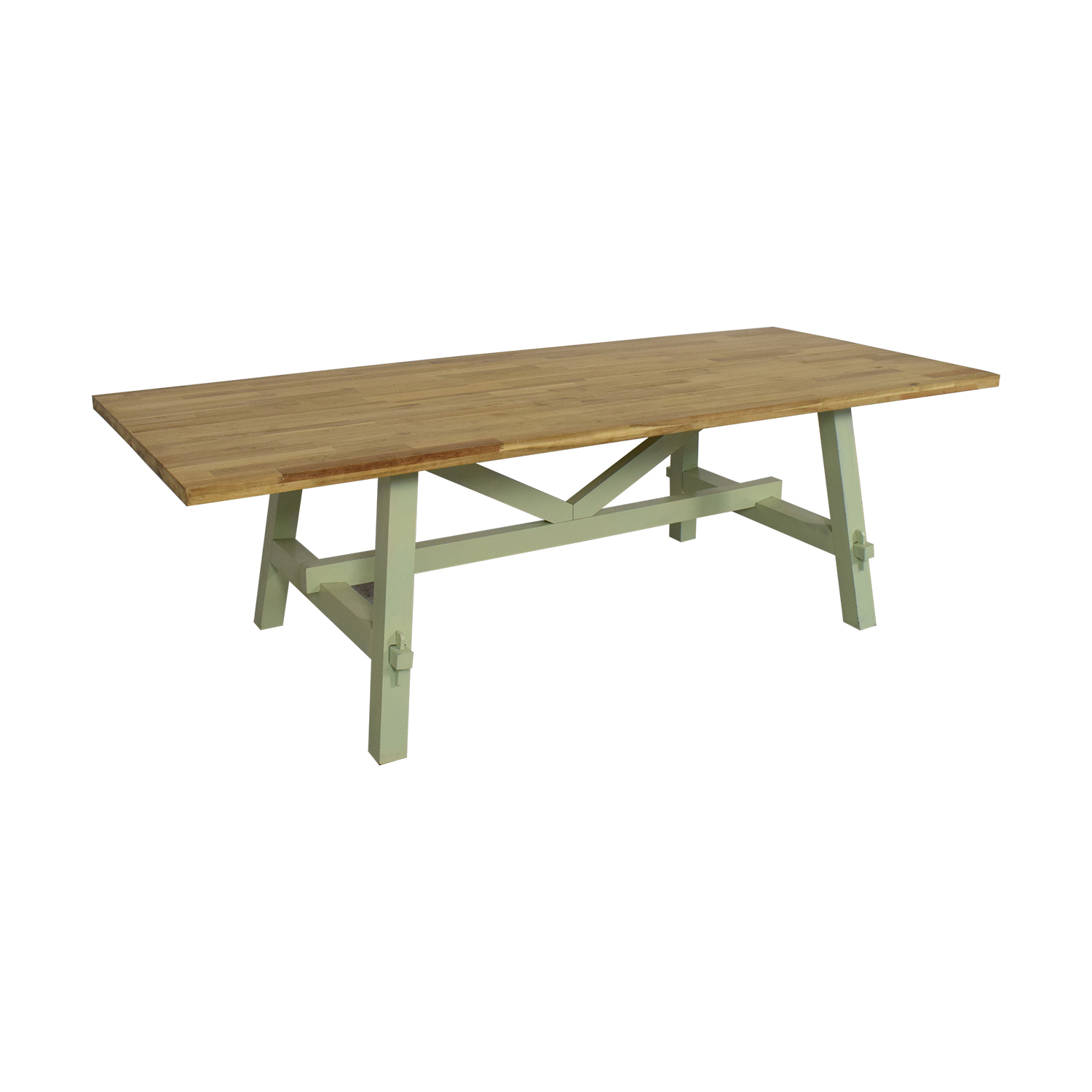buy Rustic Modern Dining Table