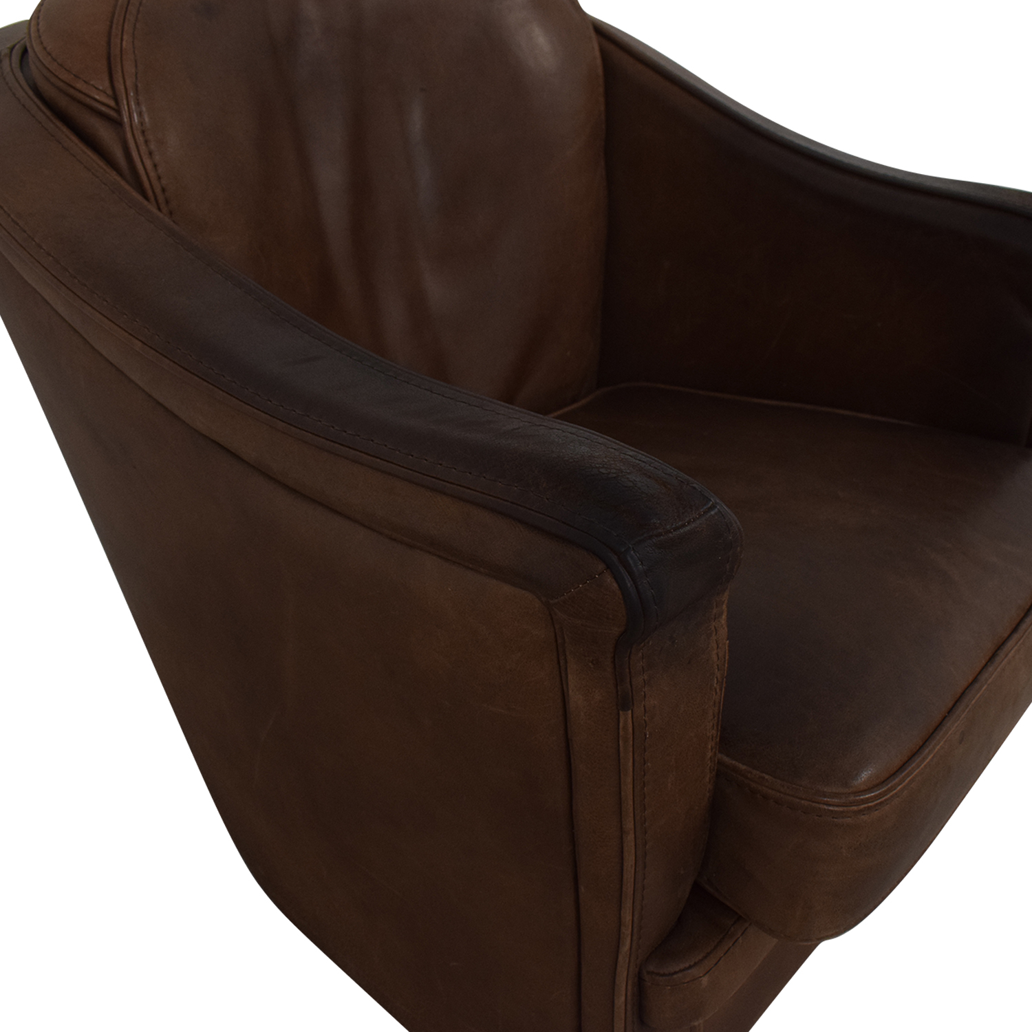 Maurice Villency Maurice Villency Leather Armchair coupon