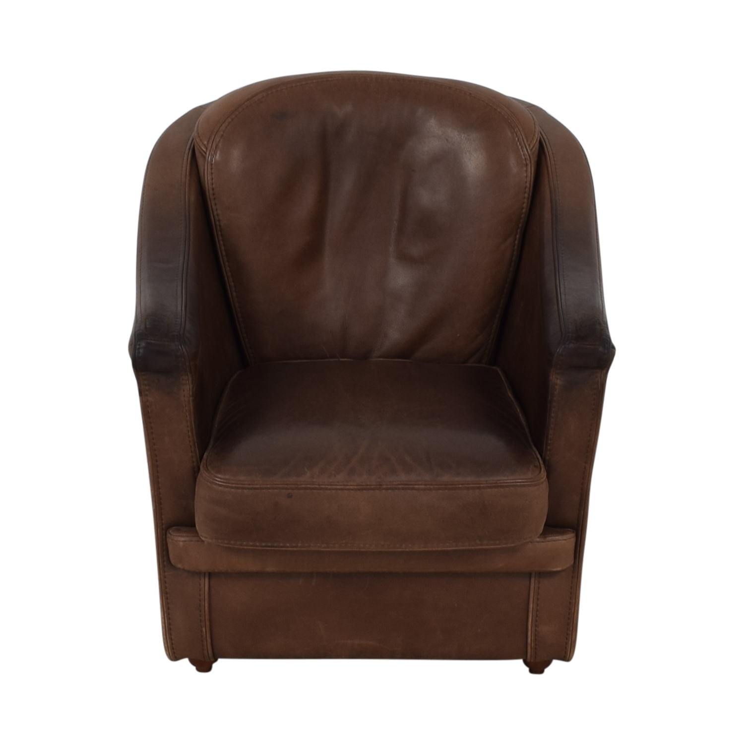 Maurice Villency Maurice Villency Leather Armchair second hand