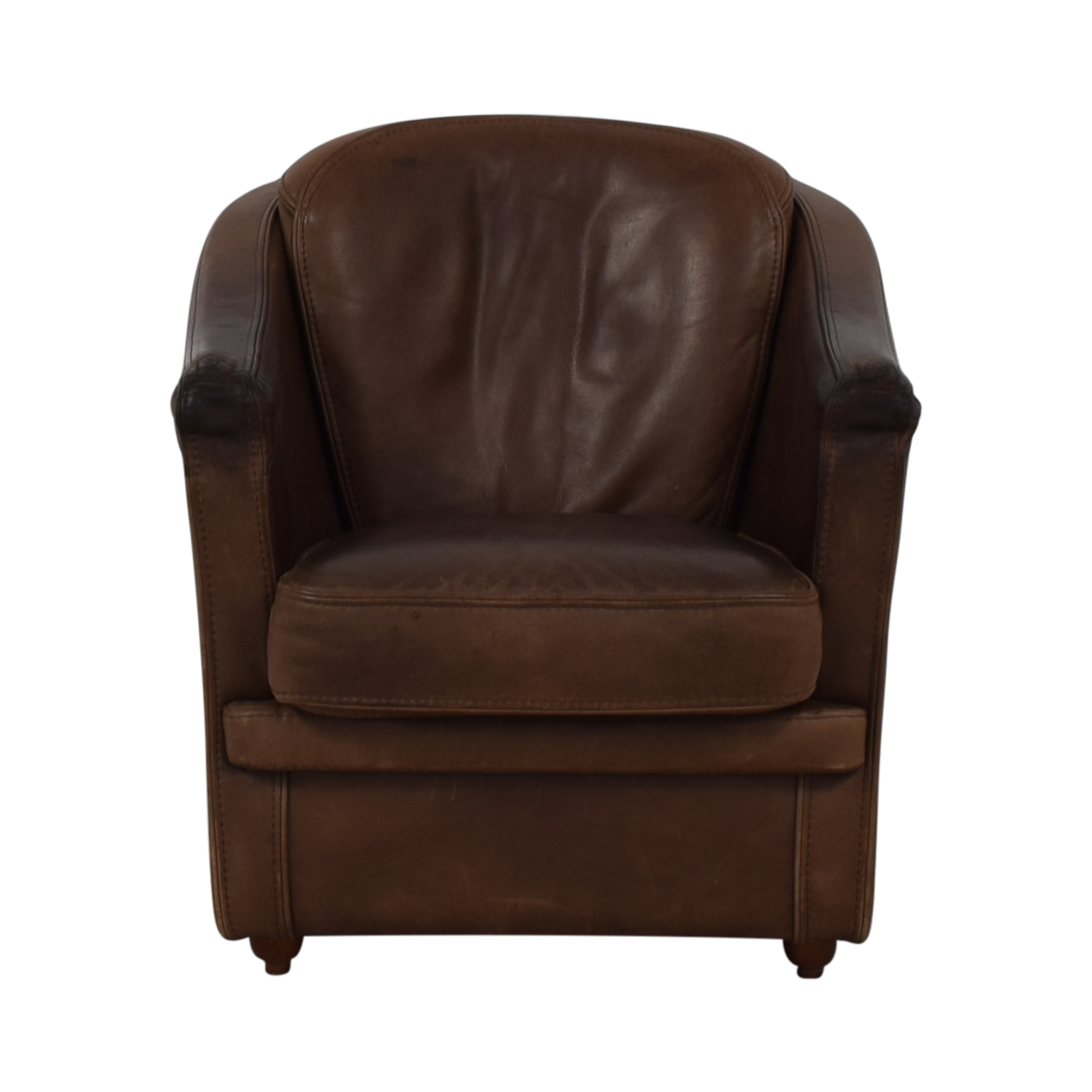 Maurice Villency Leather Armchair / Chairs