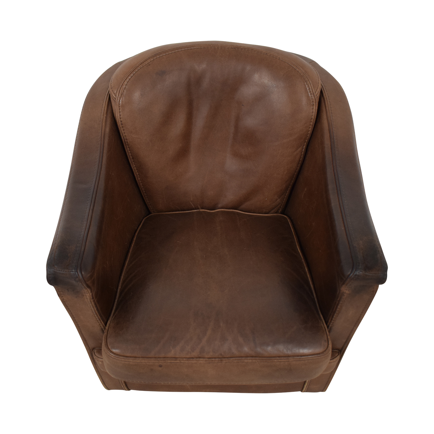 Maurice Villency Maurice Villency Leather Armchair