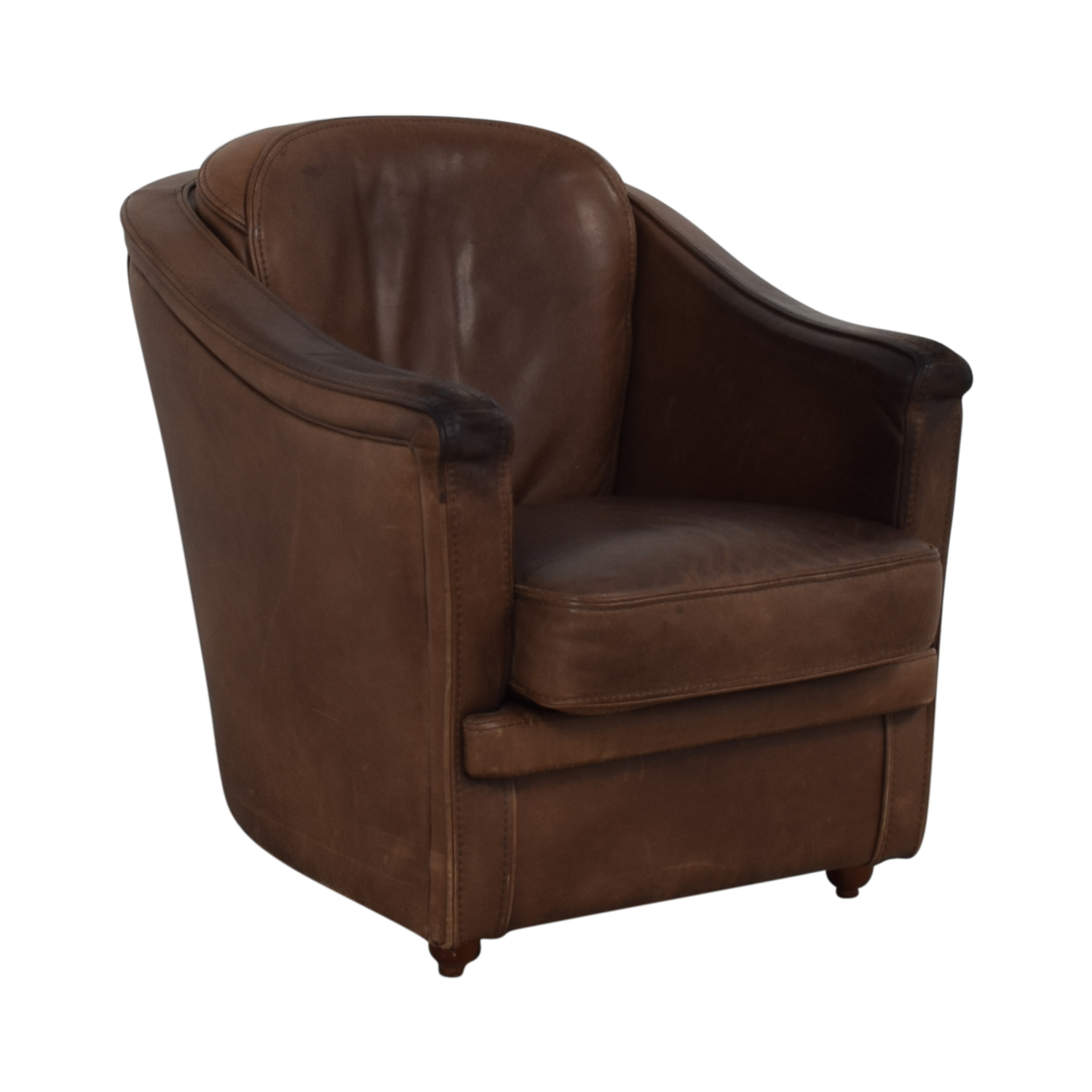 Maurice Villency Maurice Villency Leather Armchair price