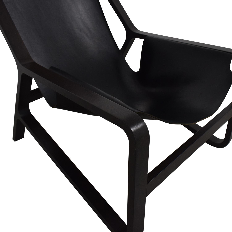 Blu Dot Blu Dot Modern Toro Lounge Chair Black