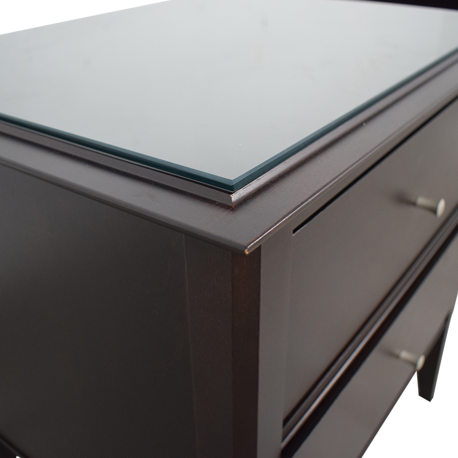 shop Baronet Modern Two-Drawer Nightstands Baronet End Tables