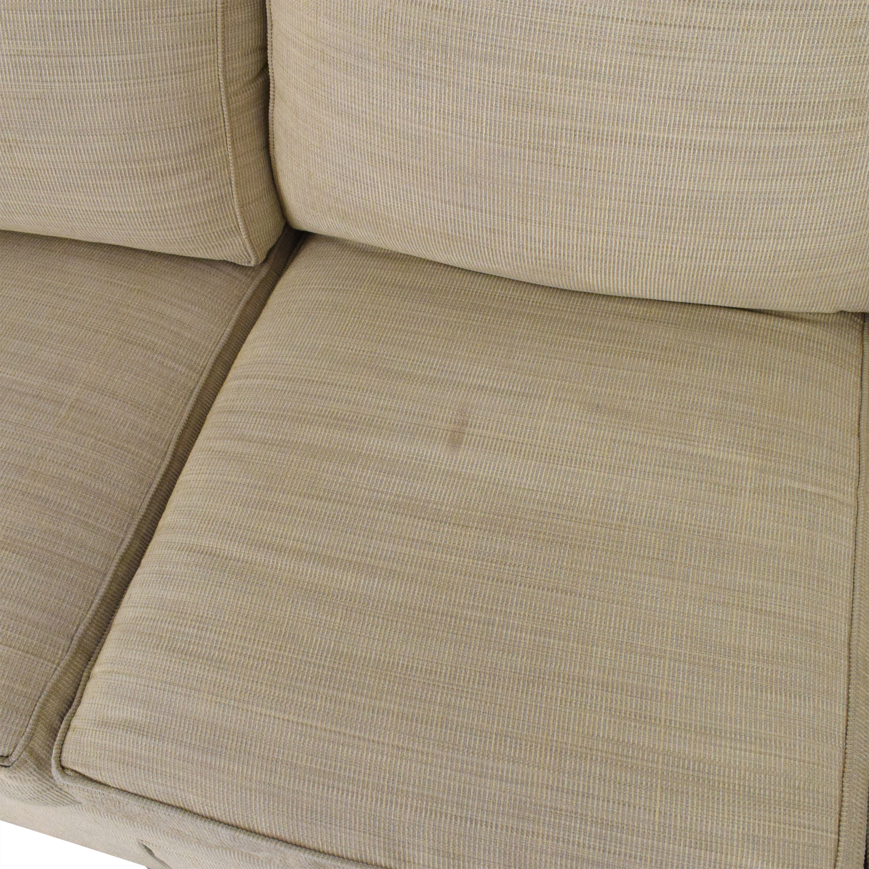 Ethan Allen Three Cushion Sofa Ethan Allen