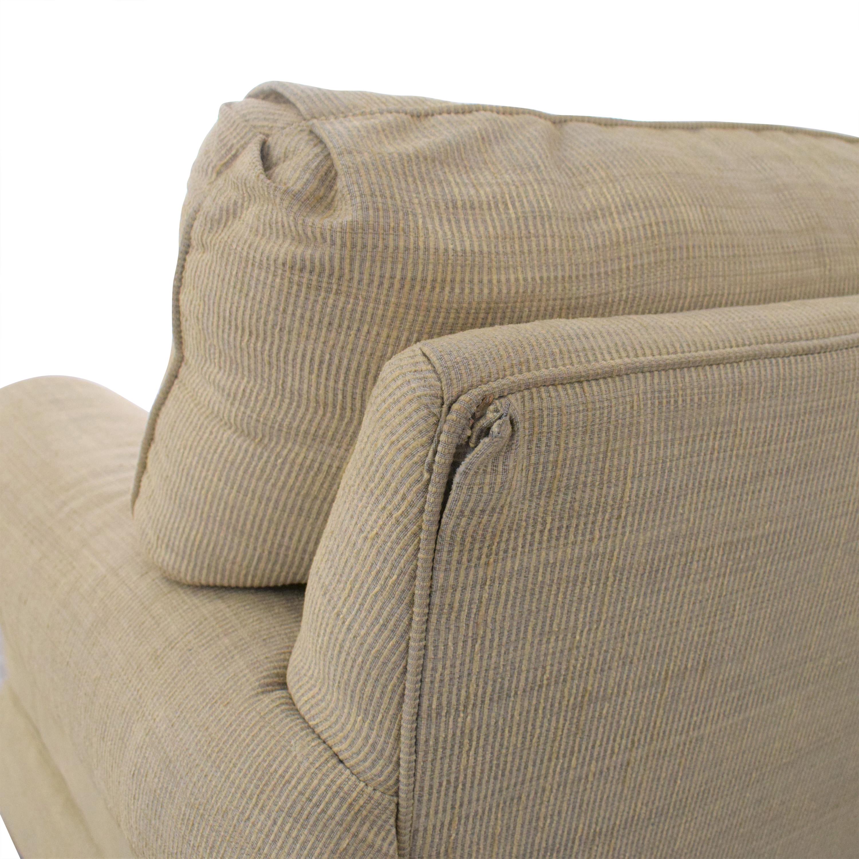 shop Ethan Allen Three Cushion Sofa Ethan Allen Classic Sofas